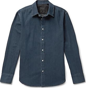Rag & Bone Fit 3 Denim Shirt - Navy
