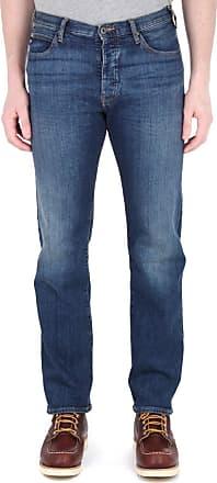 Emporio Armani Armani J21 Regular Fit Jeans 36S MID Blue