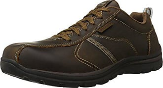 Skechers Mens Relaxed Fit Superior - Levoy Shoe, Dark Brown, 14 D(M) US