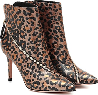 Gianvito Rossi Ankle Boots Benet aus Leder