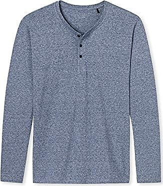 Schiesser Mix /& Relax Langarmshirt Rundhals Haut De Pyjama Homme