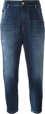 Diesel Calça jeans boyfriend - Azul