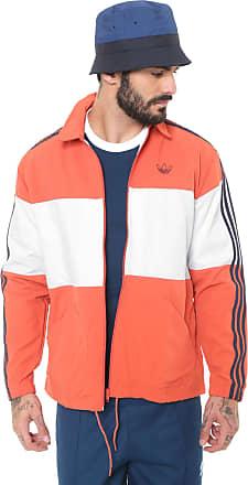 1aa1ae34278 adidas Originals Jaqueta Corta-Vento adidas Originals Coach Jacket Laranja  Branca