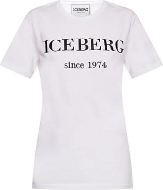 Iceberg Logo T-shirt Womens White