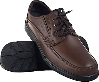 Zerimar Mens Leather Shoes | Casual Mens Shoes | Elegant Shoes for Men | Leather Shoes for Men Colour: Brown Size 11.5 UK - 44 EU