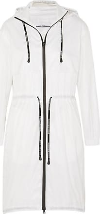 Paco Rabanne Hooded Shell Parka Jacket - White