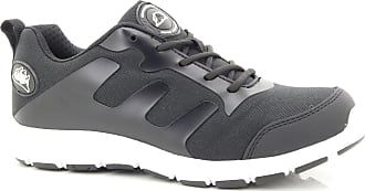 Groundwork Black White Ultra Lightweight Steel Toe Cap Safety Trainers Shoes - Black White, UK 6