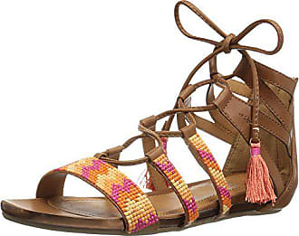 Kenneth Cole Reaction Womens Lost Look 2 Gladiator Sandal, Tan, 6 M US