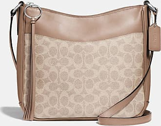 Coach Chaise Crossbody In Signature Canvas in Beige