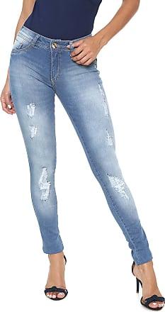 8fca467354 Biotipo Calça Jeans Biotipo Skinny Destroyed Azul