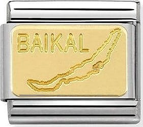 Acotis Limited Nomination Composable Classic Country Symbols 18K Gold Lake Of Baikal