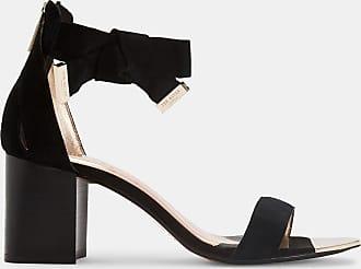 Ted Baker Block Heel Suede Sandal in Black LOOPIE, Womens Accessories