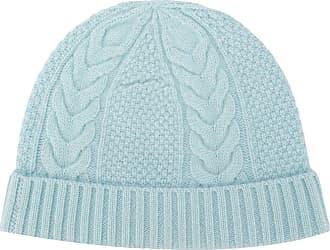 N.Peal Gorro de tricô e cashmere - Azul