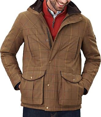 Joules Fullerton Mens Tech Tweed Waterproof Jacket XX Large Multi Tweed