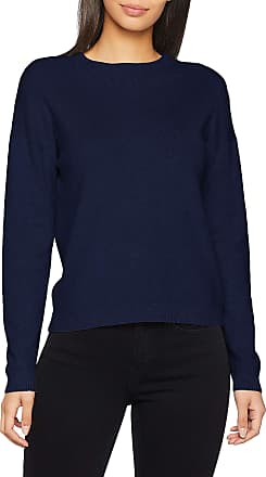 Pieces Womens Pclisa Ls Knit Noos Jumper, Blue (Maritime Blue), 8 (Size: X-Small)
