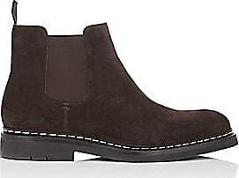 2bcf82186bb Heschung Mens Tremble Suede Chelsea Boots - Dk. brown Size 8 M