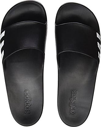 low priced 4ce2c c4c11 adidas Damen Aqualette W Dusch-  Badeschuhe Schwarz FtwwhtCblack Ba8762,  44 2