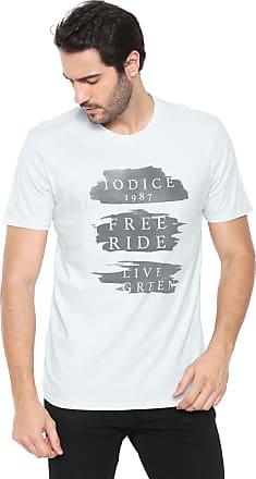 Iodice Camiseta Iódice Lettering Azul