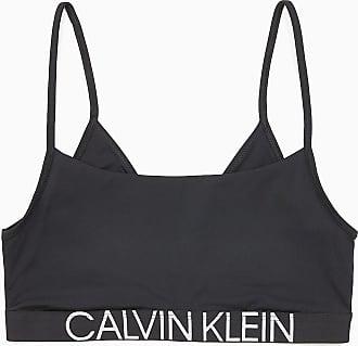 04487a7ccd Calvin Klein Bralette - Statement 1981 BLACK