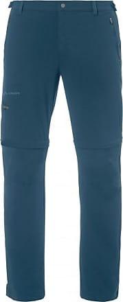 Vaude Farley Stretch T-Zip Pants II Trekkinghose für Herren | blau