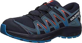 Salomon Enfant XA Pro 3D CSWP J, Chaussures de Trail Running, Imperméable, Bleu clairNoir (Cashmere BlueIllusion BlueCyan Blue), Pointure: 36