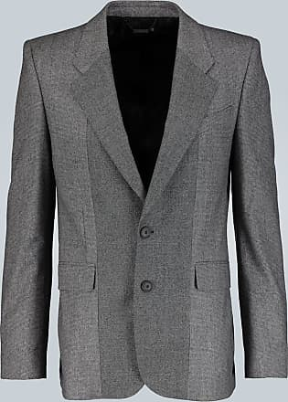 Givenchy Contrast-check wool blazer