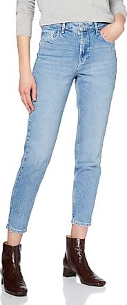 Pieces Womens Pcleah Mom Hw ANK Lb110-ba/noos Slim Jeans, Blue (Light Blue Denim), 29W