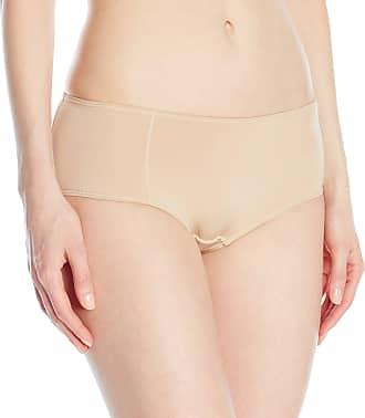 Panache Womens Porcelain Elan Boy Short, Beige (Nude), Size 20