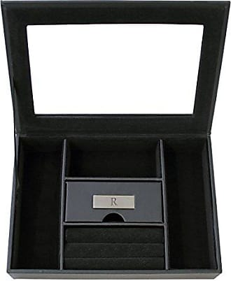 Cathy's Concepts Personalized Mens Valet Box, Letter R