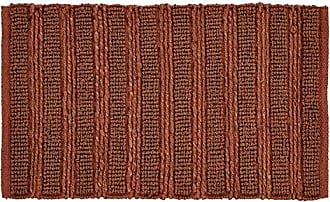 VHC Brands 28976 Laila Jute Curtain Panel, 18 x 26, Creme