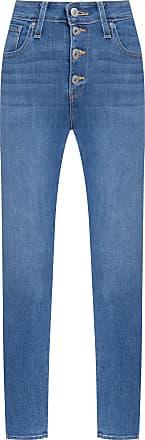 Levi's Calça Jeans 721 Skinny Exposed Buttons - Azul