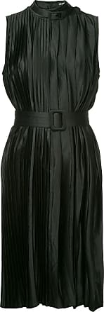 Wynn Hamlyn Ripple pleat dress - Preto