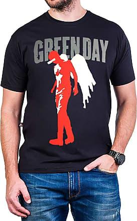 Bandalheira Camiseta Green Day Billie Joe Armstrong Anjo Gola c/Elastano
