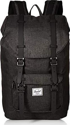 5f0b8e2a936fd Herschel Little America Mid-Volume Backpack 40.5 cm Black Crosshatch Black