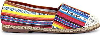 Royalz Alpargata Royalz Tecido Crochê Tribal Vermelho
