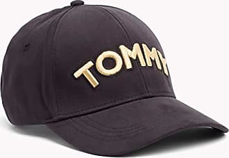 7eac3554 Tommy Hilfiger Womens Logo Patch Cap, Black, One Size