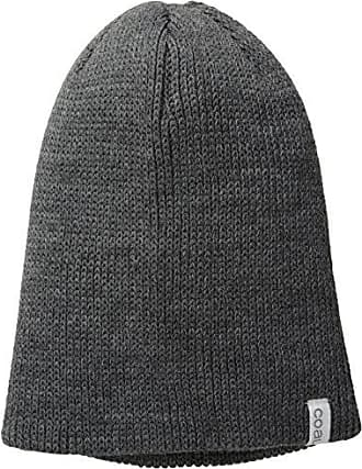 b5965b1c36446 Coal Mens The Frena Solid Fine Knit Beanie Hat