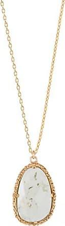 Emma Israelsson Drop Green Necklace Bronze(76/80cm)