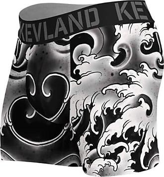 Kevland Underwear cueca boxer kevland black waves preto (1, M)