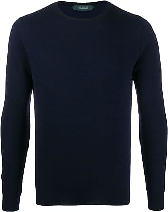Zanone crew-neck sweatshirt - Blue