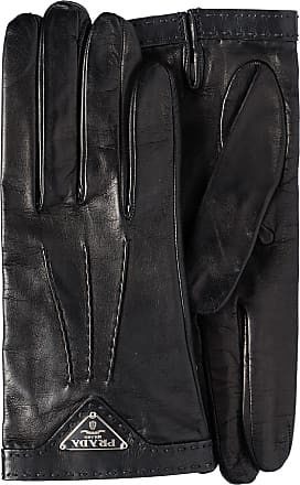Prada Nappa leather gloves - Preto