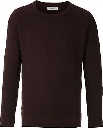 Egrey Suéter de tricô quadriculado - Marrom