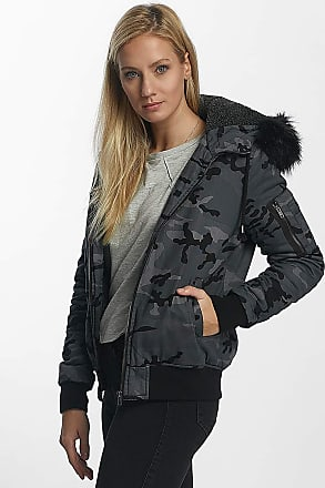 DEF Bomber Winter Jacket Anthracite Camouflage