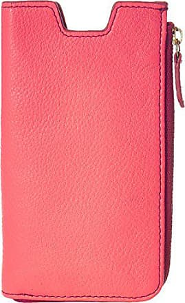 Fossil RFID Phone Slide Wallet, Neon Coral