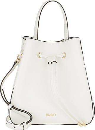 HUGO BOSS Bucket Bags - Victoria Drawstring Bag Open White - white - Bucket Bags for ladies