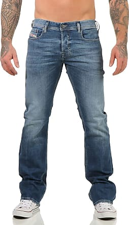 Diesel Boot Cut Stretch Jeans Zatiny R59R8 Blue Washed (33/32)