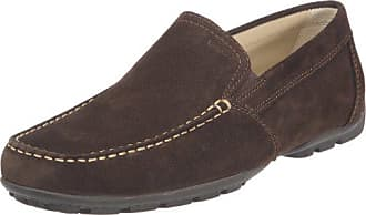 Geox Mens U Monet 18 Penny Loafer,Coffee,43 EU/10 M US
