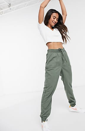 Hollister cargo trouser in khaki-Green
