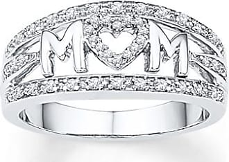 Kay Jewelers Mom Ring 1/5 ct tw Diamonds Sterling Silver