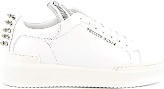 Philipp Plein Lo-Top Statement Sneakers, 38 White
